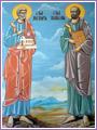 Свети първовърховни апостоли Петър и Павел
