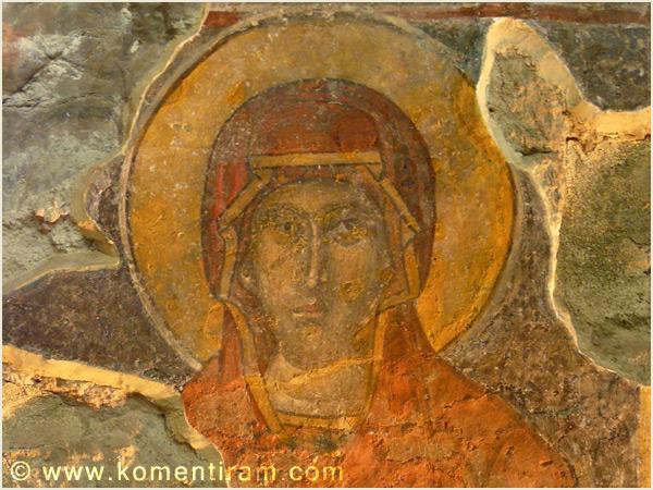 Стенопис на Света Петка