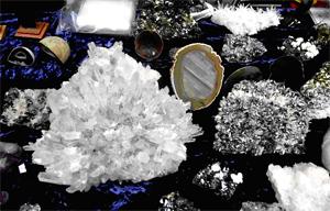"""Снимка на минерали от Национален музей """"Земята и хората"""""""