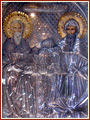 Св.Кирил и Методий, икона от базилика Сан Клементе, Рим